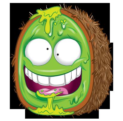 Monster Truck Dog >> Krud Kiwi Fruit | The Grossery Gang Wikia | FANDOM powered by Wikia