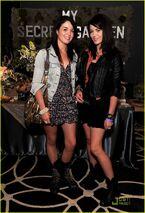 Jade (left) Nikita