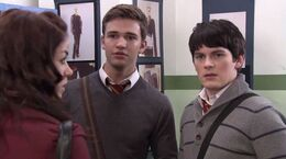 Fabina and eddie