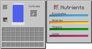 how to use a cultivator minecraft