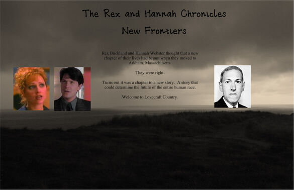 The Rex and Hannah Chronicles New Frontiers