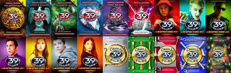 39 clues books free