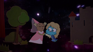 Penny Fitzgerald and Gumball Watterson at the schoolplay on The Shell 15