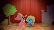 Penny Fitzgerald and Gumball Watterson at the schoolplay on The Shell 3