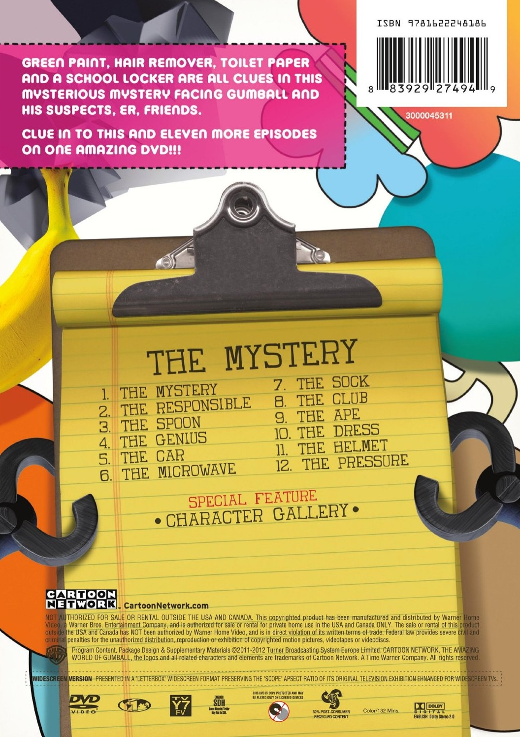 the mystery dvd the amazing world of gumball wiki