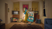 Gumball Watterson on The Shell 9