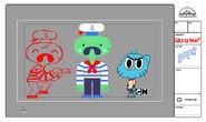 GB313HEART Character Sailors
