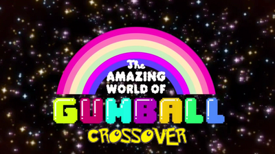 The amazing world of Gumball Crossover - logo