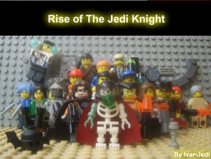 Rise of The Jedi Knight Poster