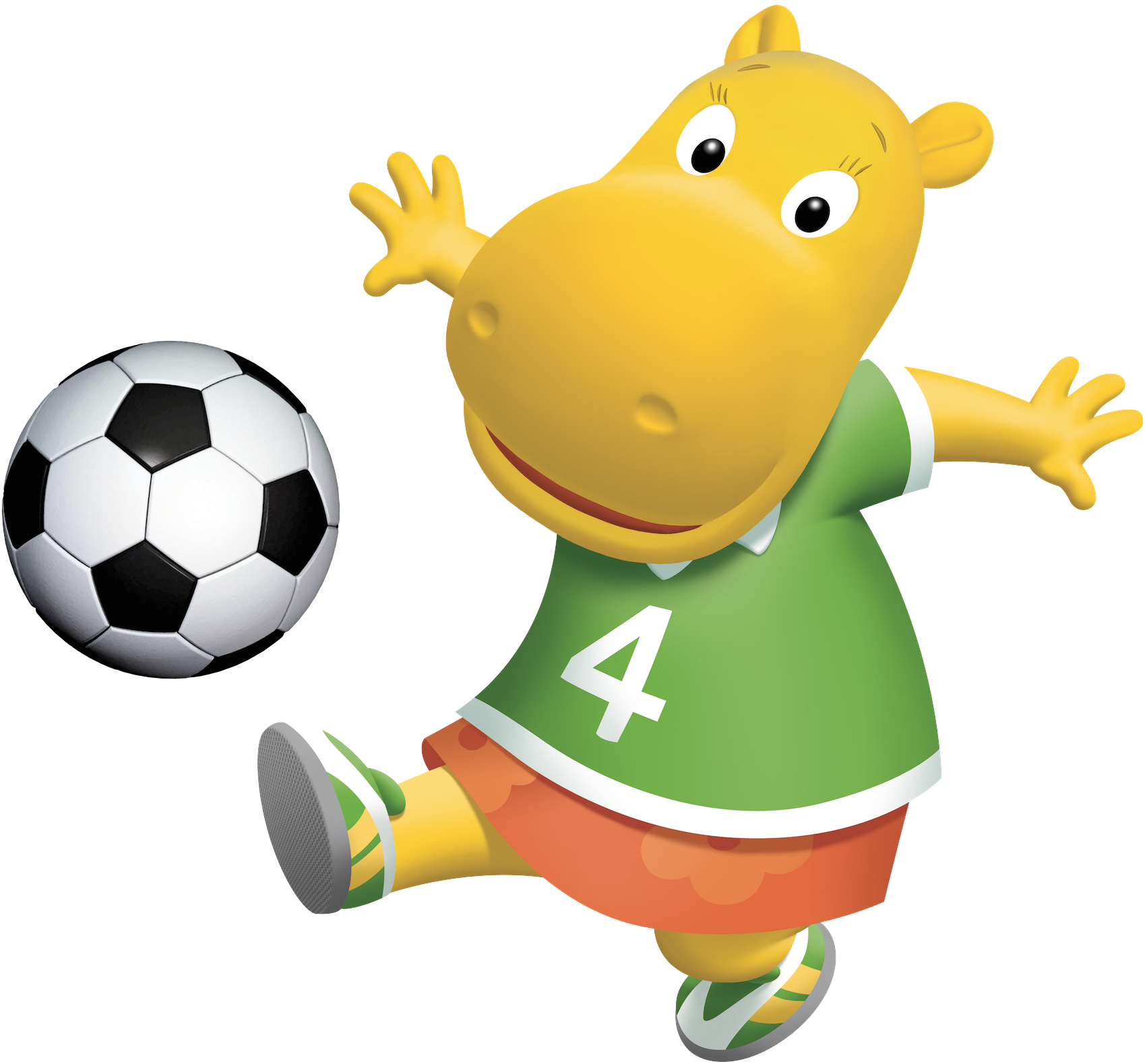 Image The Backyardigans Tasha Soccer F 250 Tbol Nickelodeon