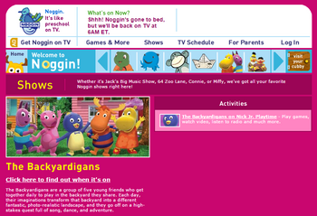 Noggin Com The Backyardigans Wiki Fandom Powered By Wikia