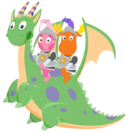 The Backyardigans - Scared Dragon