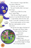 The Backyardigans Sherman the Worman in Movie Theater Storybook