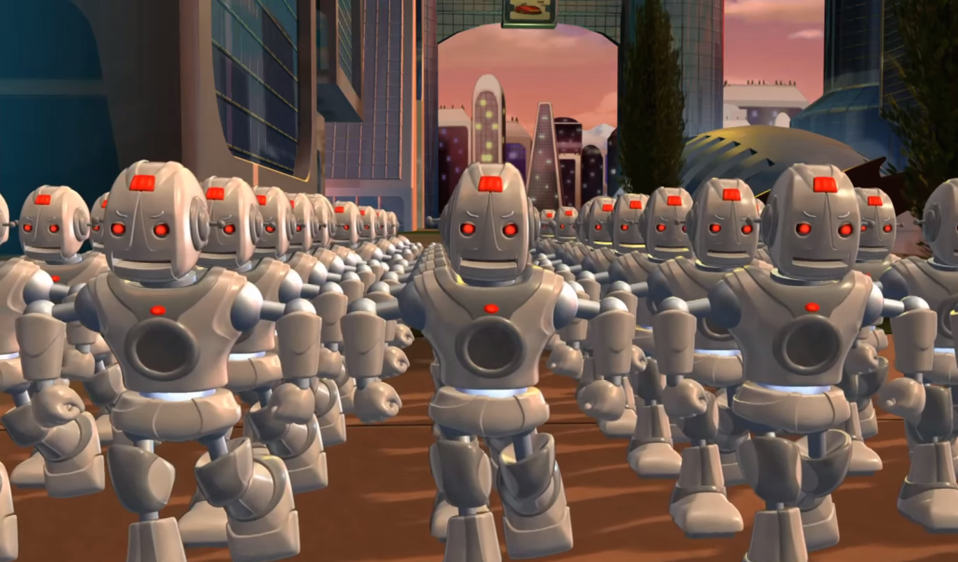 Mega City Robots The Backyardigans Wiki Fandom Powered