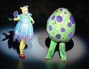 The Backyardigans Live Tasha as the Flighty Fairy and Dragon