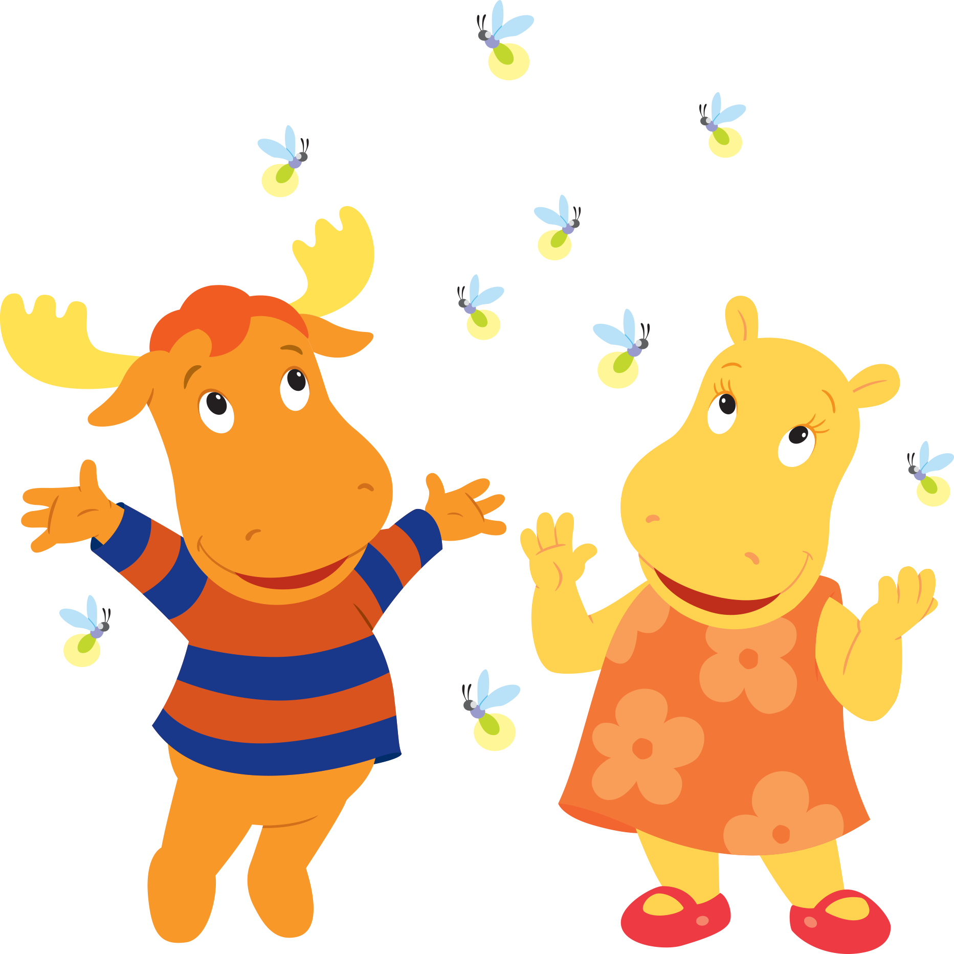 Image - The Backyardigans Tasha Tyrone Fireflies.png | The ...