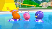 The Backyardigans Amazing Splashinis 6 Uniqua Pablo Tyrone