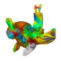Rainbow Cyborg Avior (Ball Form)