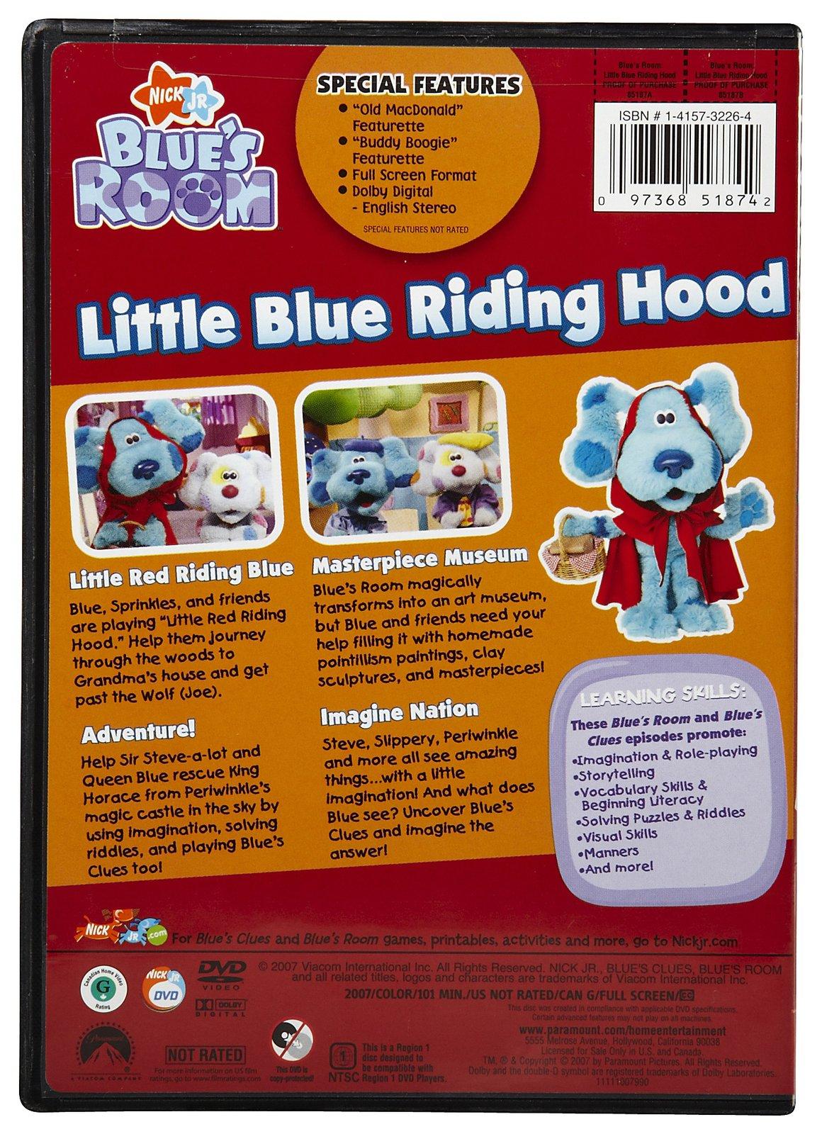 little blue riding hood dvd blue u0027s clues wiki fandom powered