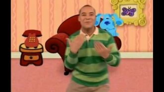 Blue's Clues - Blue's Clues Song - Nick Jr. UK (Incomplete)