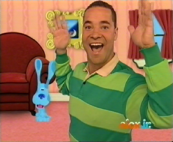 Gallery images and information blues clues magenta comes over
