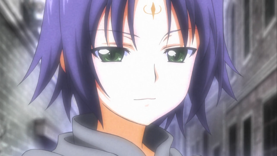 Green hair anime characters boy