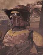 Waxer in ARF Trooper Armour