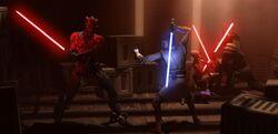 Skirmish above Raydonia - Revenge