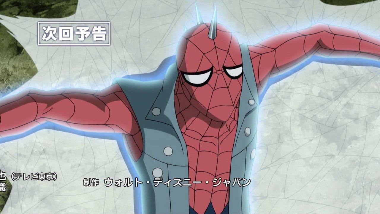 spiderpunk ultimate spiderman animated series wiki