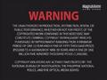 CBS-FOX Video Australian Piracy Warning (1991) VHS spine