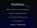 CIC Video Warning (1988) (S4)