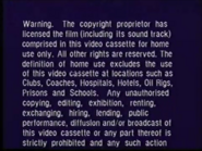 Warner Home Video Warning Screen (1995) (S1)