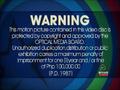 Star Records Warning Screen 6