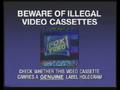 Fox Video Piracy Warning (1993) Hologram