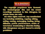 1996 - TVB International Limited Warning Screen in English