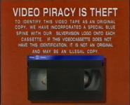 Silver Vision Piracy Warning (1989)