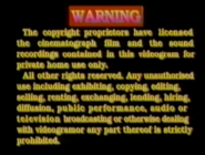 1994 - TVB International Limited Warning Screen in English