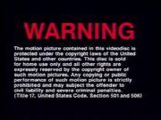Universal 1991 Warning B