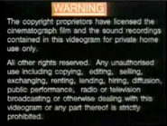 1991 TVB Warning Screen In English