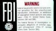 FBI Warning Screen WHV