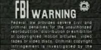 Video Treasures/Anchor Bay Entertainment Warning Screens