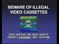 CIC Video Piracy Warning (1993) (Universal) Hologram