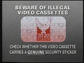 20-20 Vision Piracy Warning (1991) Hologram
