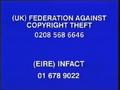 Walt Disney Home Video Piracy Warning (1998)