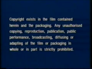 Warner Home Video UK Pre-cert Warning (1980's) (S2)