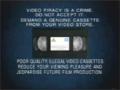 20th Century Fox Home Entertainment Illegal Video Cassettes (1997) (Version 2)