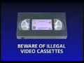 Walt Disney Home Video Piracy Warning (1994)