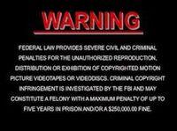 DreamWorks Warning