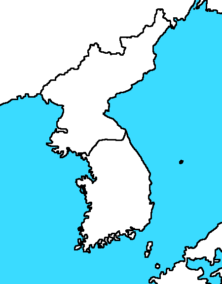 Image  Blank Map of Koreapng  TheFutureOfEuropes Wiki  FANDOM