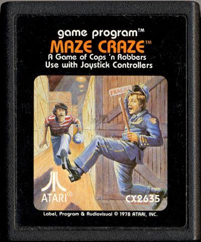 Maze Craze Atari 2600 Review - YouTube